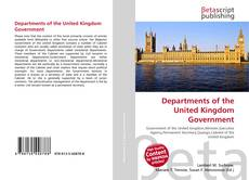 Portada del libro de Departments of the United Kingdom Government