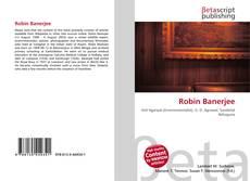 Bookcover of Robin Banerjee