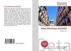 Buchcover von Altes Pfarrhaus (Fürfeld)