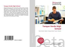Bookcover of Tanque Verde High School