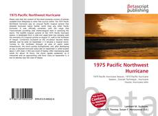 Bookcover of 1975 Pacific Northwest Hurricane