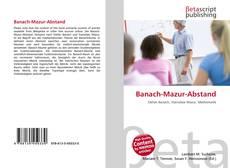 Bookcover of Banach-Mazur-Abstand