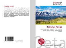 Bookcover of Tantalus Range