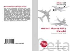 Capa do livro de National Airports Policy (Canada)