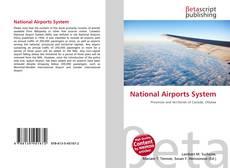 Capa do livro de National Airports System