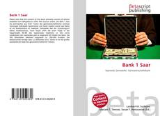 Bookcover of Bank 1 Saar