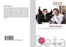 Capa do livro de Bank Austria
