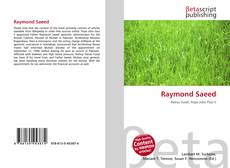 Bookcover of Raymond Saeed