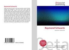 Buchcover von Raymond Schwartz