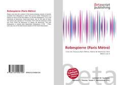 Portada del libro de Robespierre (Paris Métro)