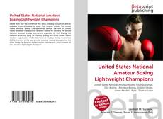 Обложка United States National Amateur Boxing Lightweight Champions