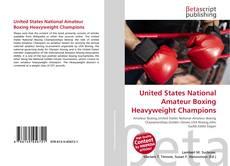 United States National Amateur Boxing Heavyweight Champions kitap kapağı