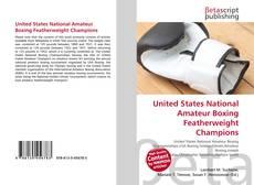United States National Amateur Boxing Featherweight Champions kitap kapağı