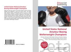 Обложка United States National Amateur Boxing Welterweight Champions
