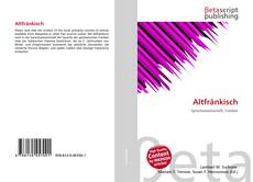 Borítókép a  Altfränkisch - hoz