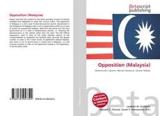 Copertina di Opposition (Malaysia)