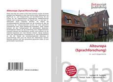 Alteuropa (Sprachforschung)的封面