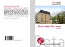 Borítókép a  Altes Schloss Gerzensee - hoz