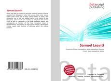 Couverture de Samuel Leavitt