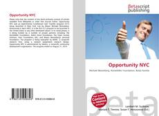 Bookcover of Opportunity NYC