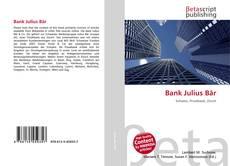 Bank Julius Bär kitap kapağı