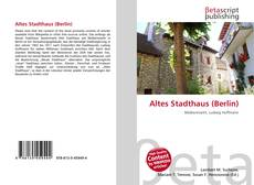 Bookcover of Altes Stadthaus (Berlin)