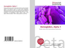 Bookcover of Hemoglobin, Alpha 1