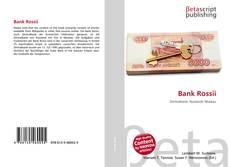 Couverture de Bank Rossii