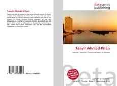 Bookcover of Tanvir Ahmad Khan