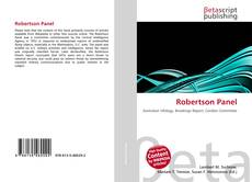 Bookcover of Robertson Panel