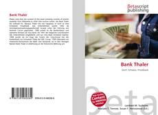 Portada del libro de Bank Thaler