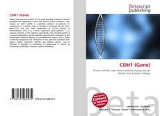 Buchcover von CDH1 (Gene)