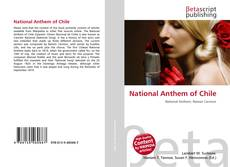 Bookcover of National Anthem of Chile