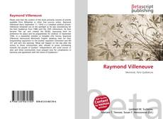 Bookcover of Raymond Villeneuve