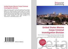 Bookcover of United States Marine Corps Criminal Investigation Division