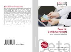 Borítókép a  Bank für Gemeinwirtschaft - hoz