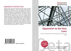 Buchcover von Opposition to the Poor Laws
