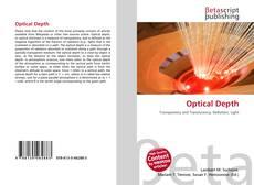 Capa do livro de Optical Depth