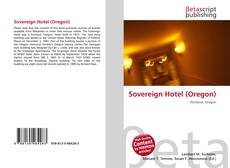 Bookcover of Sovereign Hotel (Oregon)