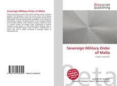 Sovereign Military Order of Malta的封面