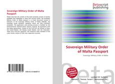 Bookcover of Sovereign Military Order of Malta Passport