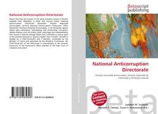 Bookcover of National Anticorruption Directorate