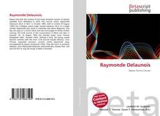 Borítókép a  Raymonde Delaunois - hoz