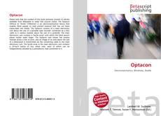 Bookcover of Optacon