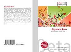 Buchcover von Raymone Bain