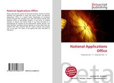Bookcover of National Applications Office