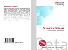 Portada del libro de Raymundo Cárdenas