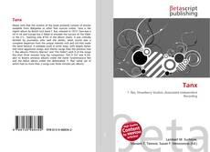 Buchcover von Tanx