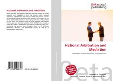 Couverture de National Arbitration and Mediation