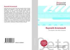 Buchcover von Raynald Arseneault